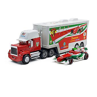 New Cars Cargo Truck Trailer F1 Racing Car Diecast Alloy Cars Model Toy Children's Gift ES12839