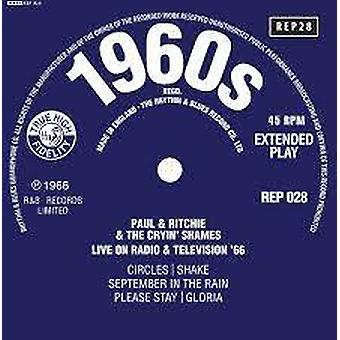 Paul And Ritchie And The Crying Shames – Live On Radio & Television '66 Vinyl