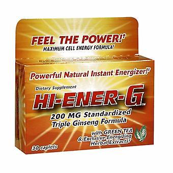 Hi-Ener-G Hi-Ener-G, 200 mg, 30 Caplets