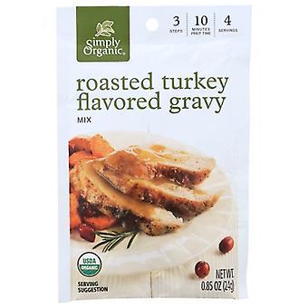 Simply Organic Mix Gravy Rstd Turkey Org, Case of 12 X 0.85 Oz