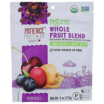 Patience Fruit & Co Berries 4 Sft Whl Org, Case of 8 X 4 Oz