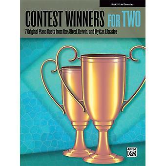 Vinnare av två bok 2 7 Original Piano Duets från Alfred Belwin och Myklas bibliotek av Other Alfred Music