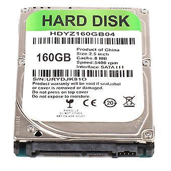 Σκληρός δίσκος Sata III PC 2,5 ιντσών 160GB εσωτερικός σκληρός δίσκος για οικιακά αξεσουάρ υπολογιστή