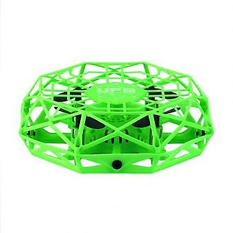 Mini Drone Infrared Induction Hand Control Flying Aircraft Toy Action Figure.