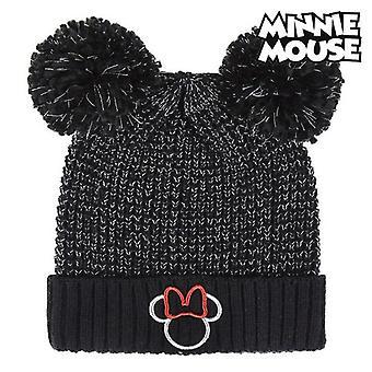 Hat Minnie Mouse Black