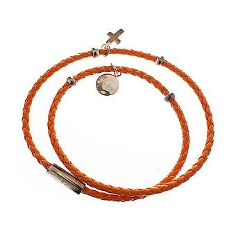 Bracelet Folli Follie 1B14F058O Orange (17 cm)