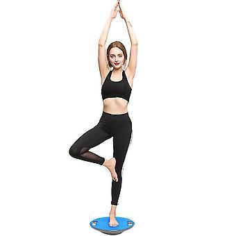 איזון לוח איזון דיסק תיאום איזון איזון צלחת כושר אימון שיקום כושר (כחול)