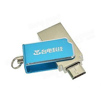 Micro/USB Dual Port 16GB U Disco USB Flash Fisk per tablet