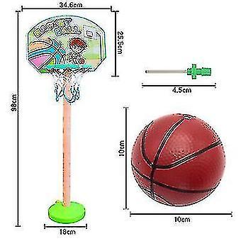 Kinderen 's Basketbal Stand Veiligheidspuzzel Ouder-kind Sport Buitensporten Vroeg onderwijs Speelgoed