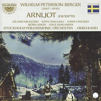 W. Peterson-Berger - Wilhelm Peterson-Berger: Arnljot [Highlights] [CD] USA import