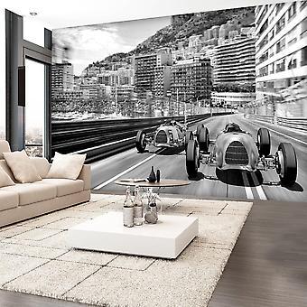 Papel de parede vintage - Corrida de Monte Carlo