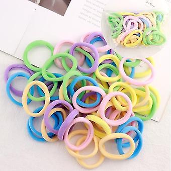 Barevné nylonové malé elastické vlasové pásky
