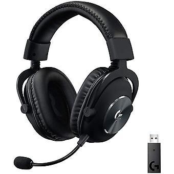 Casque de jeu supra-auriculaire Logitech G PRO X avec micro BLUE VO! CE, casque DTS: X 7.1, transducteurs PRO-G 50mm, son surround 7.1 pour Esport Gaming, PC / PS / Xbox / Nintendo Switch (noir)