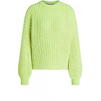 Oui Neon Chunky Knit Jumper