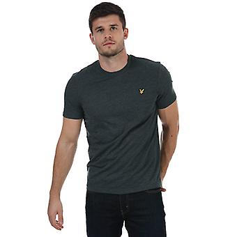 Men's Lyle And Scott Marled T-Shirt in Blue