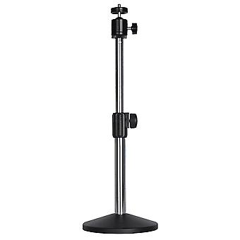 Laptop Mixers Amplifiers Metal Projector Holder Tripod Stand Round Base Free Standing