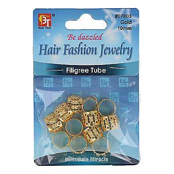 Hair Accessory Beauty Town 07803 Metal Balls Golden (10 mm)