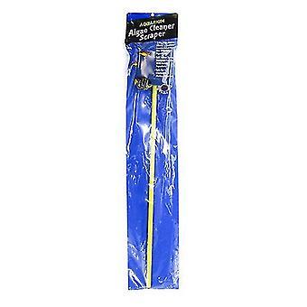 Blaues Band Doppelseitiges Algenpad auf Stock - Algenpolster auf Stock