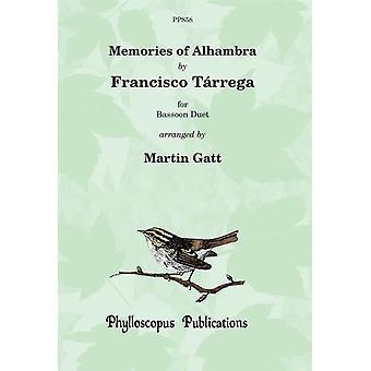 Francisco Tárrega : Memories Of Alhambra (2 Bassoons)