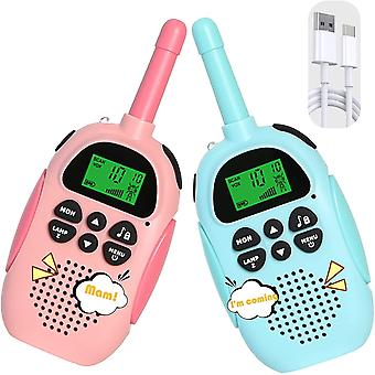 Brinquedos Infantis Walkie Talkie, Brinquedos ao ar livre para 3 4 5 6 7 Meninos de 8 anos de idade e Meninas, Jardim