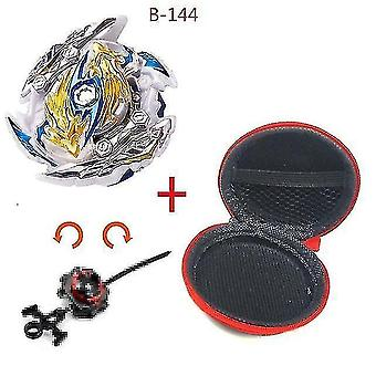 Spinning tops 5 beyblade burst sparking turbo b48 launcher  metal top gyro blade blade spinning fight toys b144
