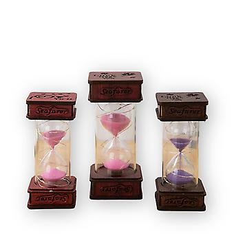 New Color Quicksand Bottom Switch Will Light Up The Hourglass Timer Gift