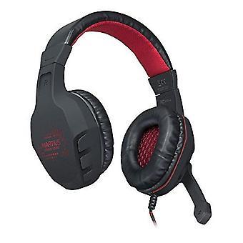 SPEEDLINK Martius Stereo Illuminated Gaming Headset - Black/Red (SL-860001-BK)