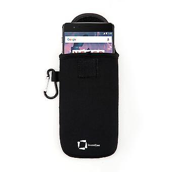 InventCase Neopreeni suojaava pussi tapauksessa OnePlus 3T - musta