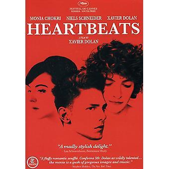 Heartbeats [DVD] USA import