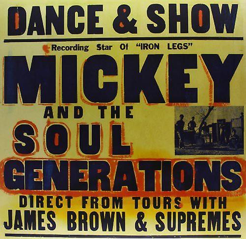 Mickey & the Soul Generation - Iron Leg [Vinyl] USA import