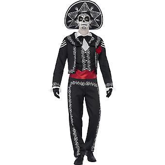 Schädel Kostüm Mexiko Dia de Muertos Mexikaner Herren