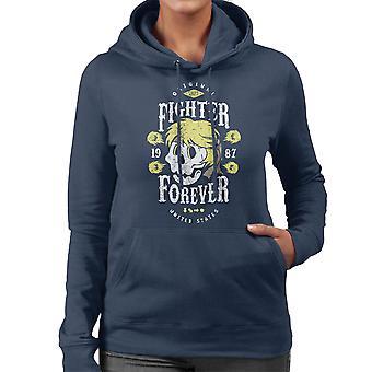 Fighter Forever Ken Masters Street Fighter Women's Hooded Sweatshirt