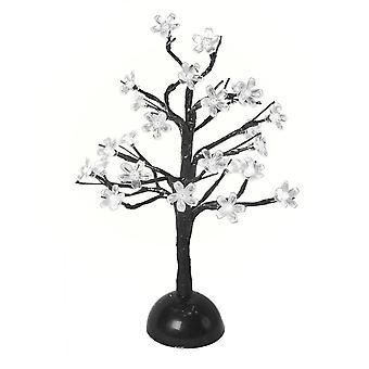 The Benross Christmas Workshop 40  cm Battery Operated Cherry Tree Light, White