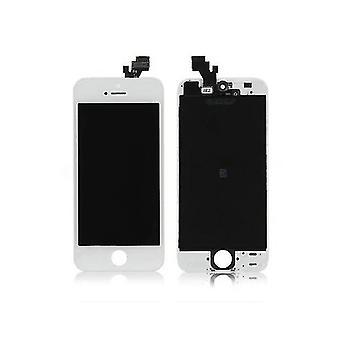IPhone 5 trousse de panneau-blanc-avec une réparation gratuite