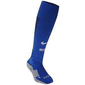 2016-2017 inter de Milão Nike fora meias (azul)