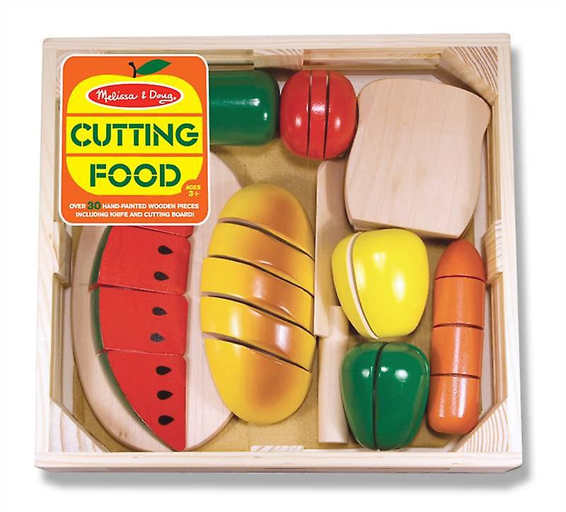 Melissa & Doug Cutting Food Age 3+ Wooden Play Food Role Play
