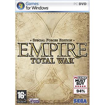 Empire Total War-Special Forces Edition (PC)-fabriek verzegeld