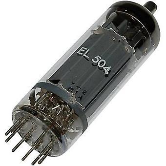 El 504 = 6 GB 5 A vakuumrör utgång pentod 75 V 440 ma antal stift: 9 bas: magnoval innehåll 1 st (s)