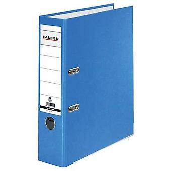 Falken Folder FALKEN Recycolor A4 Spine width: 80 mm Blue 2 brackets 11285673