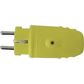 בטיחות התקע גאו גומי 230 V צהוב
