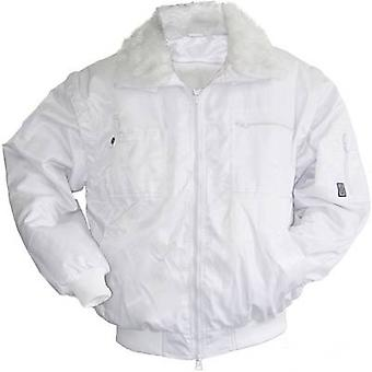 L+D Griffy 42051 Bison 4-in-1 multi-function Pilot Jacket Size: S White