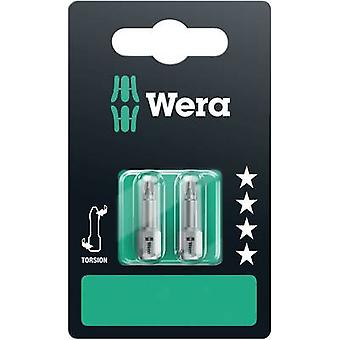 Wera 851/1 TZ SB SiS 05073326001 Philips bit PH 1, PH 2, PH 3 Acciaio utensile indurito D 6.3 3 pc