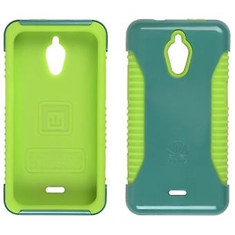 5 Pack -Trident Nestled Case for Huawei Valient M881(Teal/Lime Green)