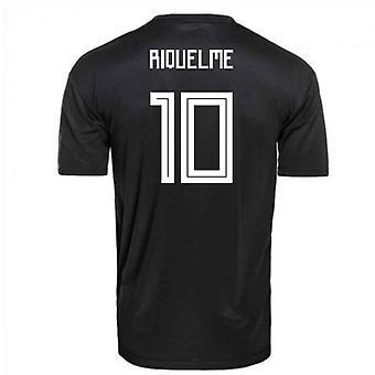 2018-2019 Argentina Away Adidas Football Shirt (Riquelme 10)