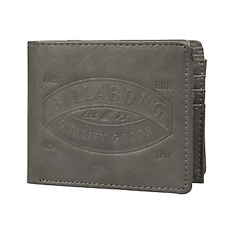 Billabong Junction Faux Portefeuille en cuir en charbon de bois
