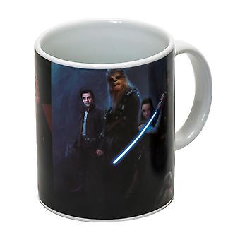 Star Wars Episode 8 cup Good & B÷se wit, bedrukt, gemaakt van keramiek, socket÷gene 320 ml., in een geschenkdoos.