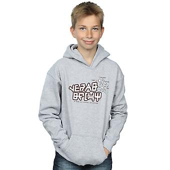 Marvel Boys Guardians Of The Galaxy Star Lord Text Hoodie