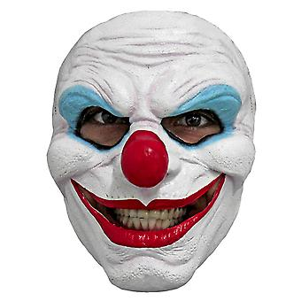 Creepy Smile Clown Horror Joker Evil Sinister Creepy Mens Costume Latex 1/2 Mask