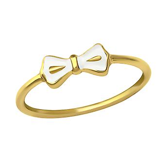 Bow - 925 Sterling Silver Plain Rings - W23485X