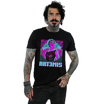 Spieler Herren Neon Art3mis T-Shirt bereit